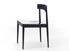 - Contemporary style upholstered stackable beech restaurant chair BLANC 01 - 01/L - Very Wood