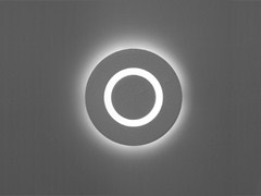 - Wall-mounted concrete steplight MATRIX ROUND LED - Orbit