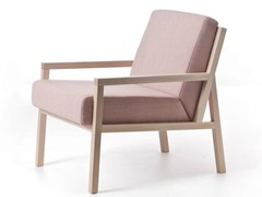 - Fabric armchair with armrests PARIS 04 - Very Wood