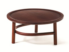 - Round wooden coffee table UNAM T01 - Very Wood