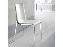 - Upholstered imitation leather chair EVA | Upholstered chair - Bontempi Casa