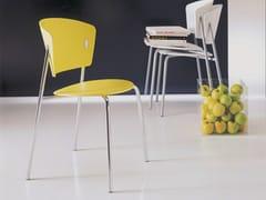 - Polypropylene chair GIÒ | Stackable chair - Bontempi Casa
