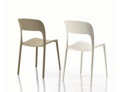 - Stackable polypropylene chair GIPSY | Plastic chair - Bontempi Casa