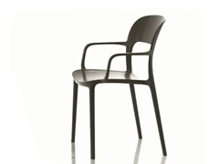 - Stackable polypropylene chair GIPSY | Chair with armrests - Bontempi Casa