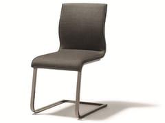 - Cantilever upholstered fabric chair MAGNUM | Fabric chair - TEAM 7 Natürlich Wohnen