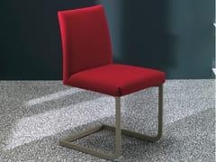 - Upholstered chair HISA | Cantilever chair - Bontempi Casa