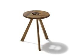 - Low wooden coffee table treeO - TEAM 7 Natürlich Wohnen