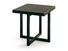 - Square wooden coffee table YARD | Square coffee table - Poliform