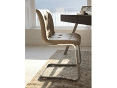 - Cantilever upholstered chair KUGA | Cantilever chair - Bontempi Casa