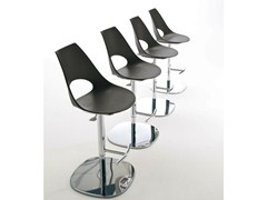 - Swivel counter stool SHARK | Polypropylene chair - Bontempi Casa