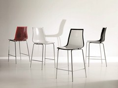 - Polycarbonate counter stool LEYLA | Counter stool - Bontempi Casa