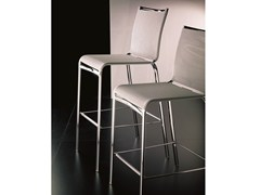 - Texplast counter stool with footrest NET - Bontempi Casa
