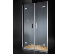 - Niche glass shower cabin with hinged door with tray ELITE B10 - RARE