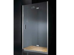 - Niche glass shower cabin with hinged door with tray ELITE B08 - RARE