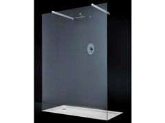 - Crystal shower wall panel OPEN SPACE F04 - RARE