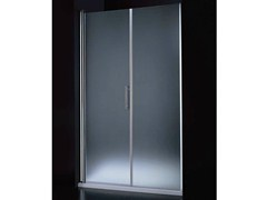 - Niche tempered glass shower cabin with hinged door SEGNO B07 F - RARE