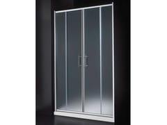 - Niche glass shower cabin with sliding door INN B10 - RARE