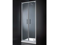 - Niche glass shower cabin with hinged door INN B07 - RARE