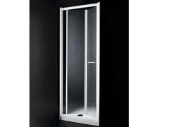 - Acrylic glass shower cabin with folding door AMERICA B02 - RARE