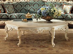 - Low round solid wood coffee table 11611 | Coffee table - Modenese Gastone group