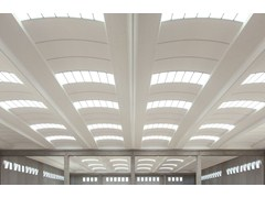 Dachkonstruktion aus Stahlbetonfertigteilen ALIANT SPAZIO - Baraclit Prefabbricati