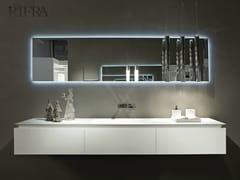 - Single wall-mounted vanity unit K.FLY | Single vanity unit - RIFRA