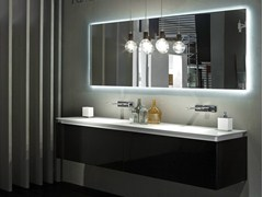 - Double wall-mounted vanity unit K.FLY | Double vanity unit - RIFRA