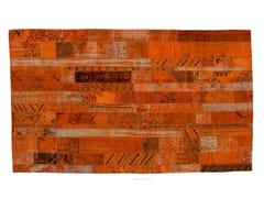 - Vintage style patchwork rug PATCHWORK RESTYLED ORANGE - Golran