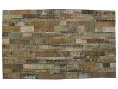 - Vintage style patchwork rug PATCHWORK RESTYLED GREY - Golran