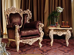 - Upholstered fabric armchair with armrests 11419   Armchair - Modenese Gastone group