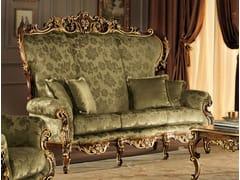 - 3 seater high-back fabric sofa 11420 | Sofa - Modenese Gastone group
