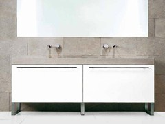 - Lacquered vanity unit FONTE | Vanity unit - RIFRA