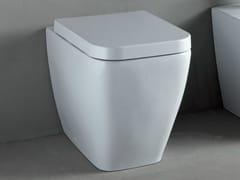 - White-paste toilet THIN   Toilet - RIFRA