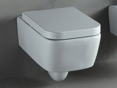 - Wall-hung white-paste toilet THIN | Wall-hung toilet - RIFRA