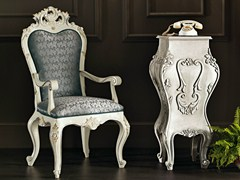 - Upholstered chair with armrests 11503   Chair with armrests - Modenese Gastone group