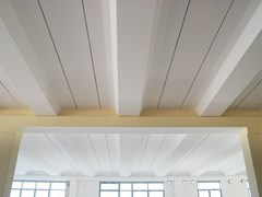 Dachkonstruktion aus Stahlbetonfertigteilen IPERSOL - Baraclit Prefabbricati