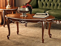 - Oval solid wood coffee table 11612 | Coffee table - Modenese Gastone group