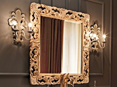 - Wall-mounted framed mirror 11634 | Mirror - Modenese Gastone group