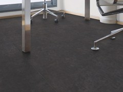 - Synthetic material floor tiles with stone effect INSIGHT MINERAL - GERFLOR