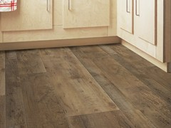 - Synthetic material floor tiles with wood effect SENSO RUSTIC MIX - GERFLOR