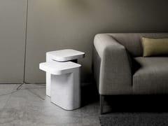 - Carrara marble side table PETRA | Carrara marble coffee table - RETEGUI