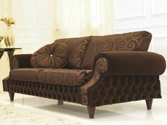 - Tufted fabric sofa VENICE | Fabric sofa - Formenti