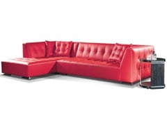 - Corner leather sofa AIRON | Corner sofa - Formenti