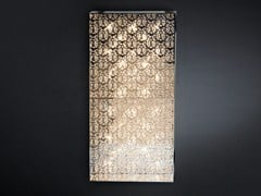 - Wall light with crystals DOMINO RECTANGULAR - VGnewtrend