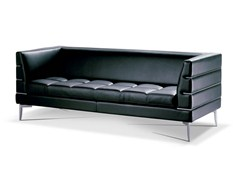 - Leather sofa PRESTIGE | Sofa - Formenti