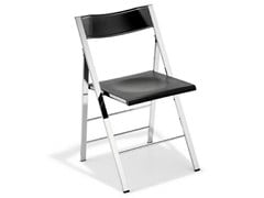 - Folding chair with footrest POCKET SUPRA PLASTIC - AREA DECLIC