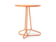 - Round garden table TRIA UNO - AREA DECLIC