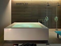 - Overflow outdoor hot tub QUADRAT MINIPOOL - Kos by Zucchetti