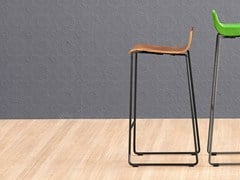 - High sled base stool NOVA 65 - ONDARRETA