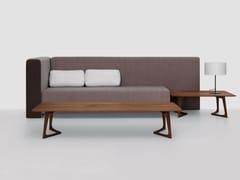 - Low rectangular wooden coffee table TWIST COUCH | Rectangular coffee table - ZEITRAUM